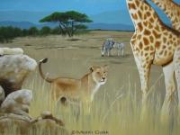 melih-calik_wandbild_safari_31008