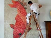 Malerarbeiten 21013 Bildtapete