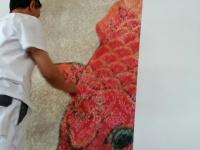 Malerarbeiten 21014 Bildtapete